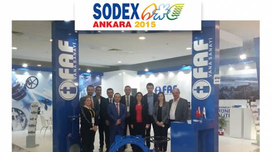Sodex Ankara 2015 Fuarımız