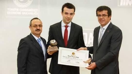 2013 Yılı İhracat Başarı Ödülümüz