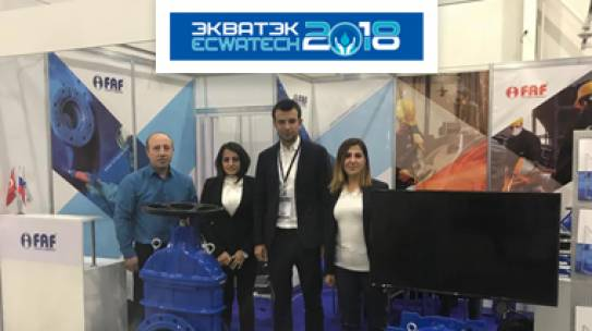 ECWATECH EXPO, MOSCOW 2018