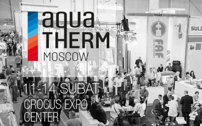 AQUA THERM MOSCOW 11-14 ŞUBAT 2020