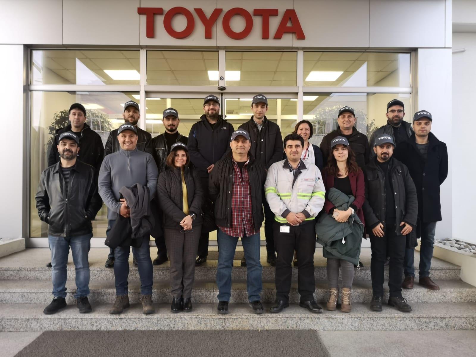 Toyota Fabrikasına Teknik Gezi