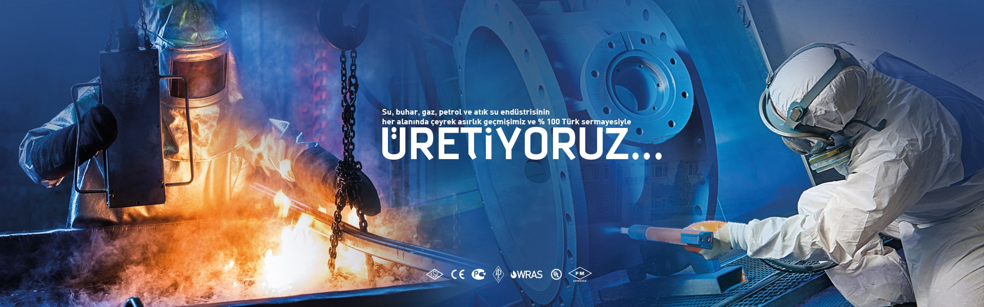 Su, buhar, gaz, petrol ve atık su endüstrisinin her alanında çeyrek asırlık geçmişimiz ve % 100 Türk sermayesiyle ü