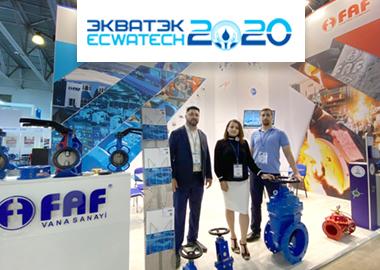Ecwatech 2020 Türkiye'den Katılan Tek Firma